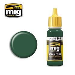 IJN Nakajima Dark Green - 17ml - Ammo by Mig Jimenez - A.MIG-0264