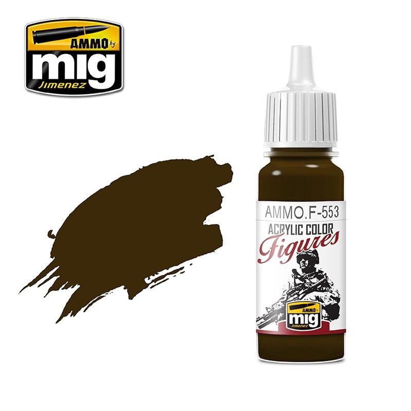 Ammo by Mig Jimenez Figure Series Burnt Brown Red - 17ml - Ammo by Mig Jimenez - AMMO.F-553