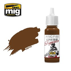 Figure Series Red Leather - 17ml - Ammo by Mig Jimenez - AMMO.F-552