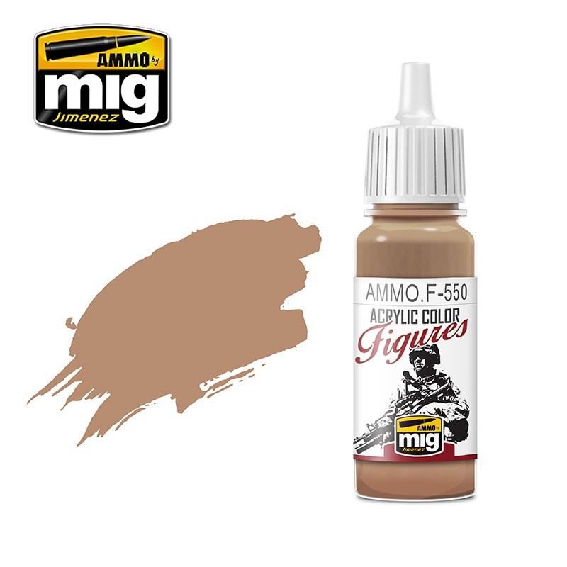 Ammo by Mig Jimenez Figure Series Warm Skin Tone - 17ml - Ammo by Mig Jimenez - AMMO.F-550