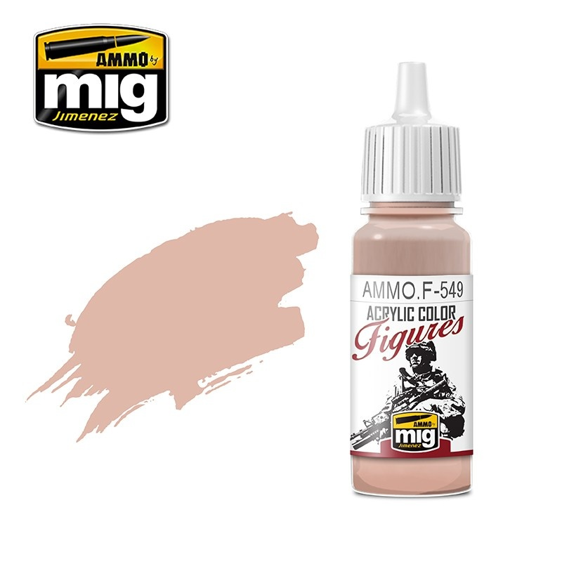 Ammo by Mig Jimenez Figure Series Basic Skin Tone - 17ml - Ammo by Mig Jimenez - AMMO.F-549