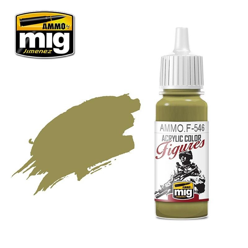 Ammo by Mig Jimenez Figure Series Ochre Brown - 17ml - Ammo by Mig Jimenez - AMMO.F-546