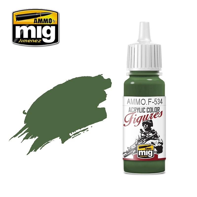 Ammo by Mig Jimenez Figure Series Olive Green - 17ml - Ammo by Mig Jimenez - AMMO.F-534