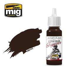 Figure Series Dark Brown - 17ml - Ammo by Mig Jimenez - AMMO.F-533