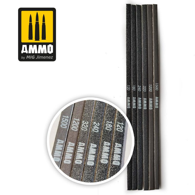 Ammo by Mig Jimenez Contour Sanding Sticks - Ammo by Mig Jimenez - A.MIG-8568