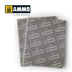 Sanding Sponge Sheet (Grain 180) - Ammo by Mig Jimenez - A.MIG-8556