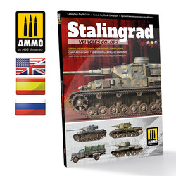 German And Russian Camouflages In The Battle Of Stalingrad English, Spanish, Russian - Ammo by Mig Jimenez - A.MIG-6146