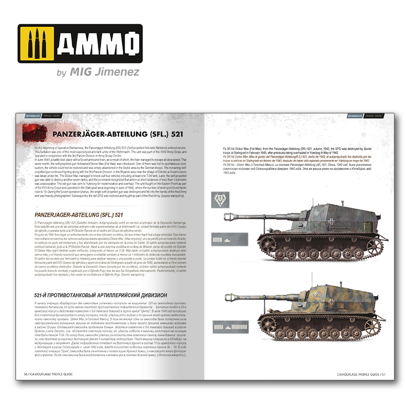 Ammo by Mig Jimenez German And Russian Camouflages In The Battle Of Stalingrad English, Spanish, Russian - Ammo by Mig Jimenez - A.MIG-6146