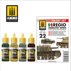 Regio Esercito WWII - Ammo by Mig Jimenez - A.MIG-7180