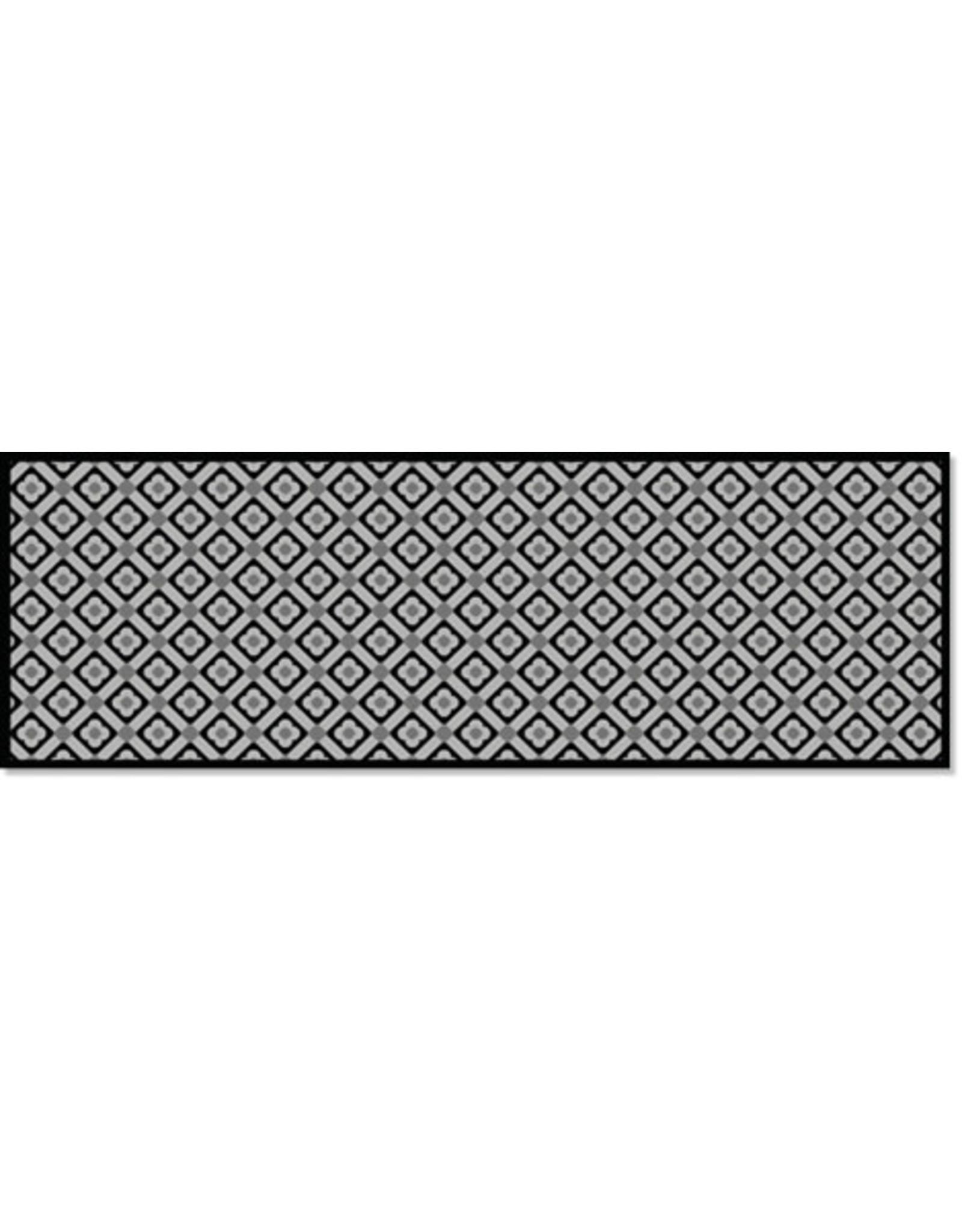 Flipper DECOSOFT TILES ZWART/WIT 50X150 RUITER