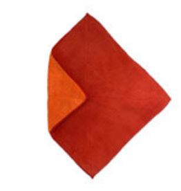 Flipper Microtex duo 30x30 oranje/rood