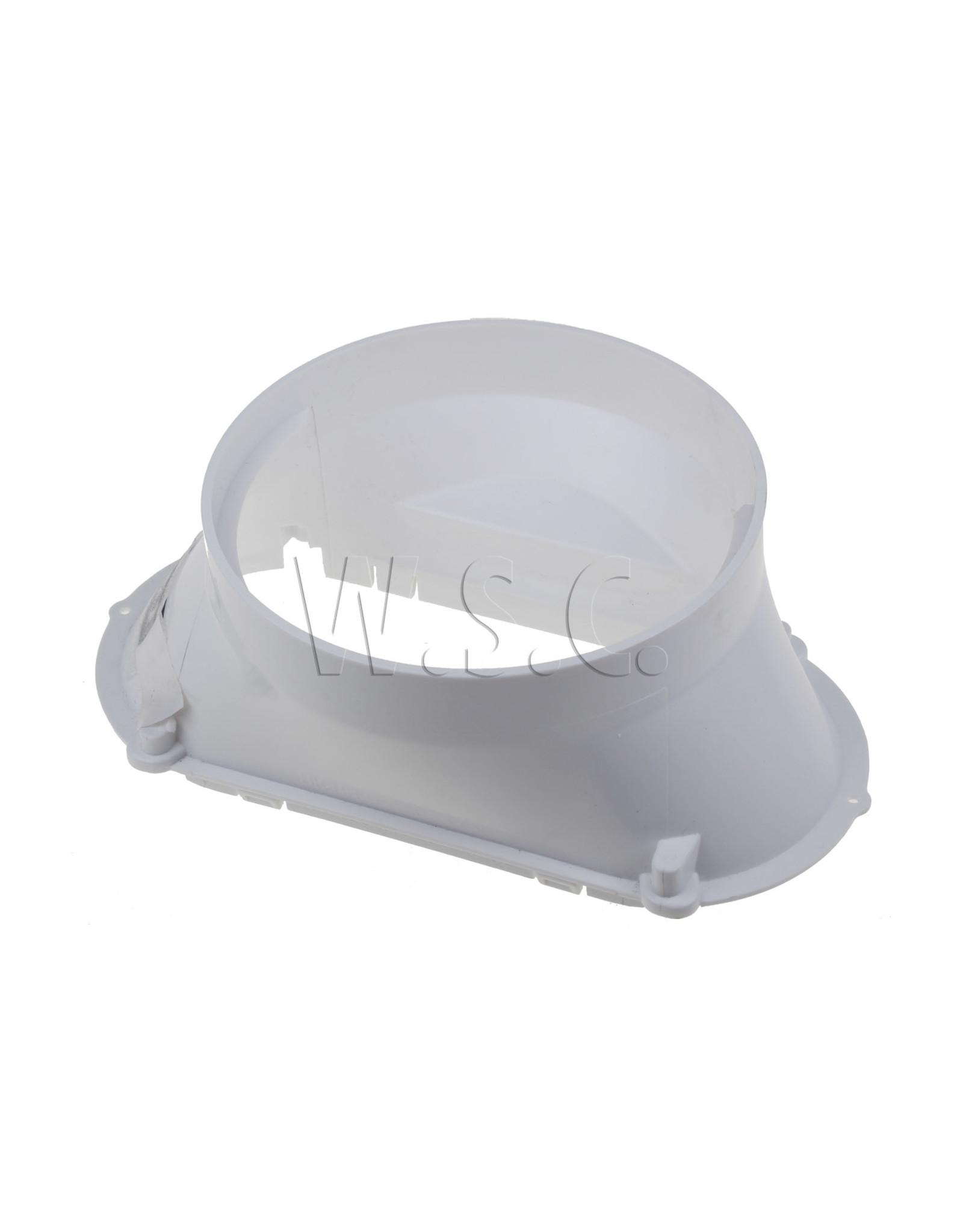 Whirlpool ADAPTER - KOPPELING LUCHTAFVOER