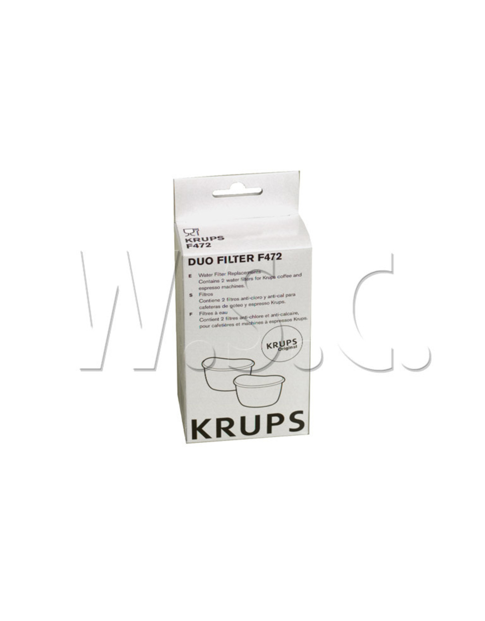 Krups KRUPS  FME141  ANTIKALKFILTER P/2ST