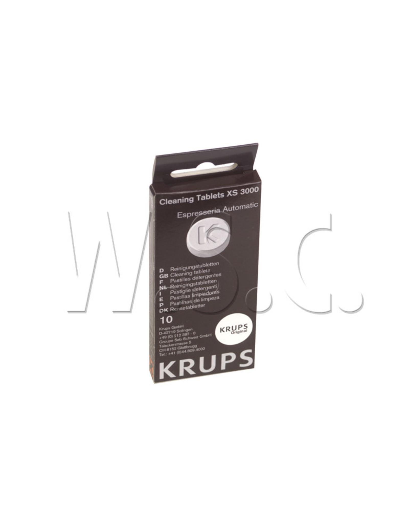 Krups KRUPS ESPRESSO  REINIGINGSTABLETTEN XS3000