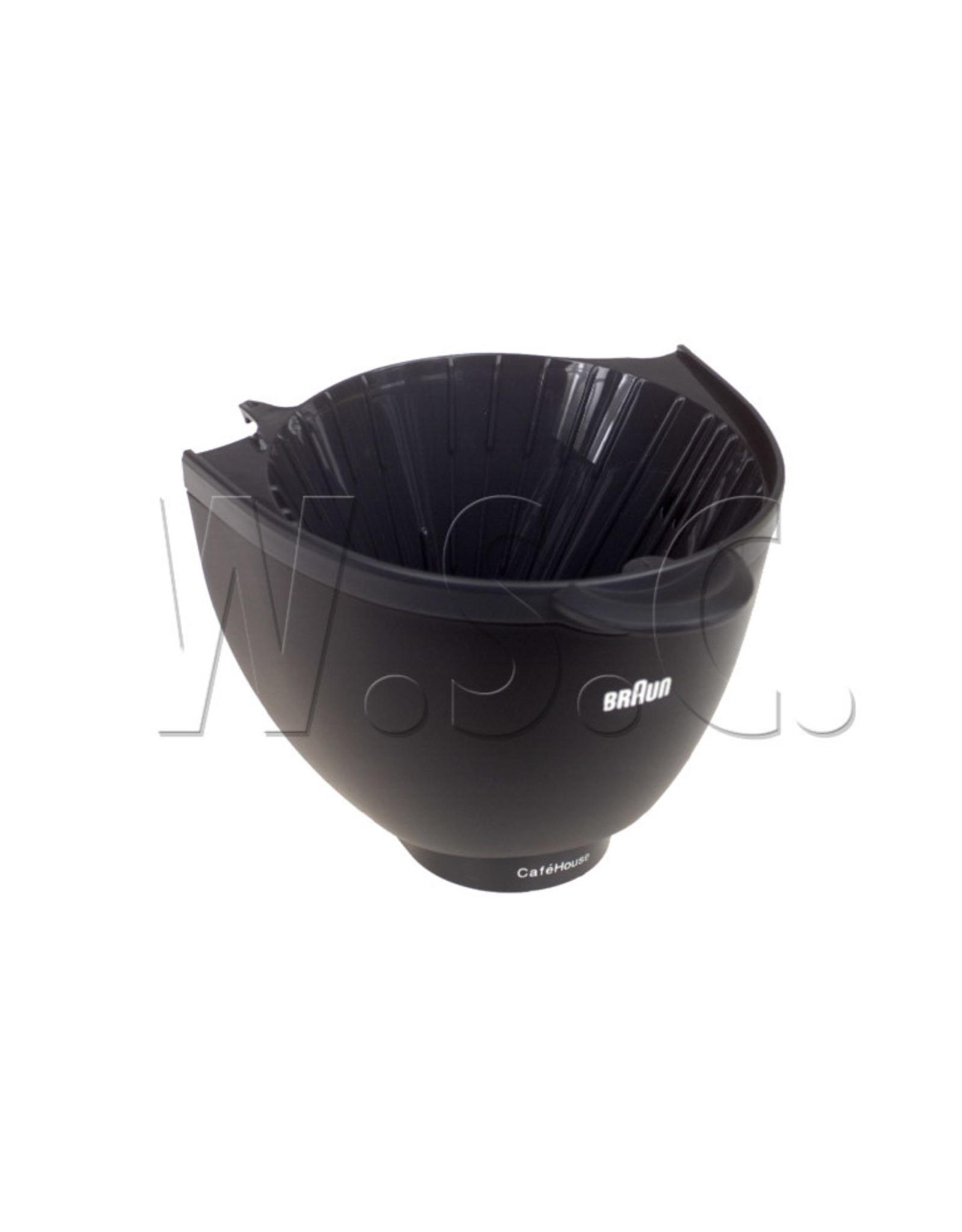 Braun FILTERHOUDER KF500 zwart