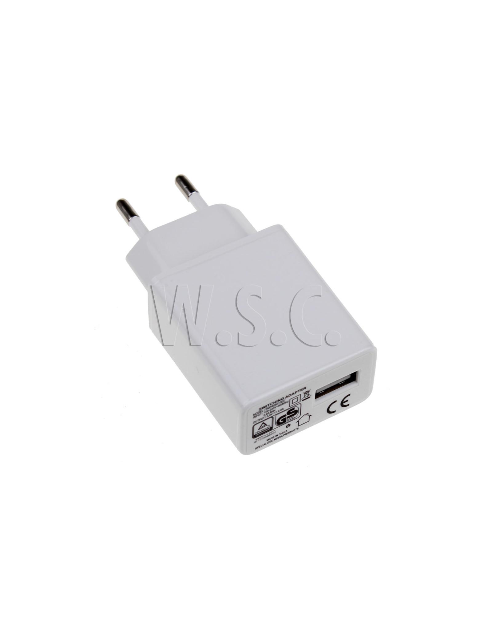 Spez NETADAPTER USB - SMARTPHONE / TABLET - 5V/2A