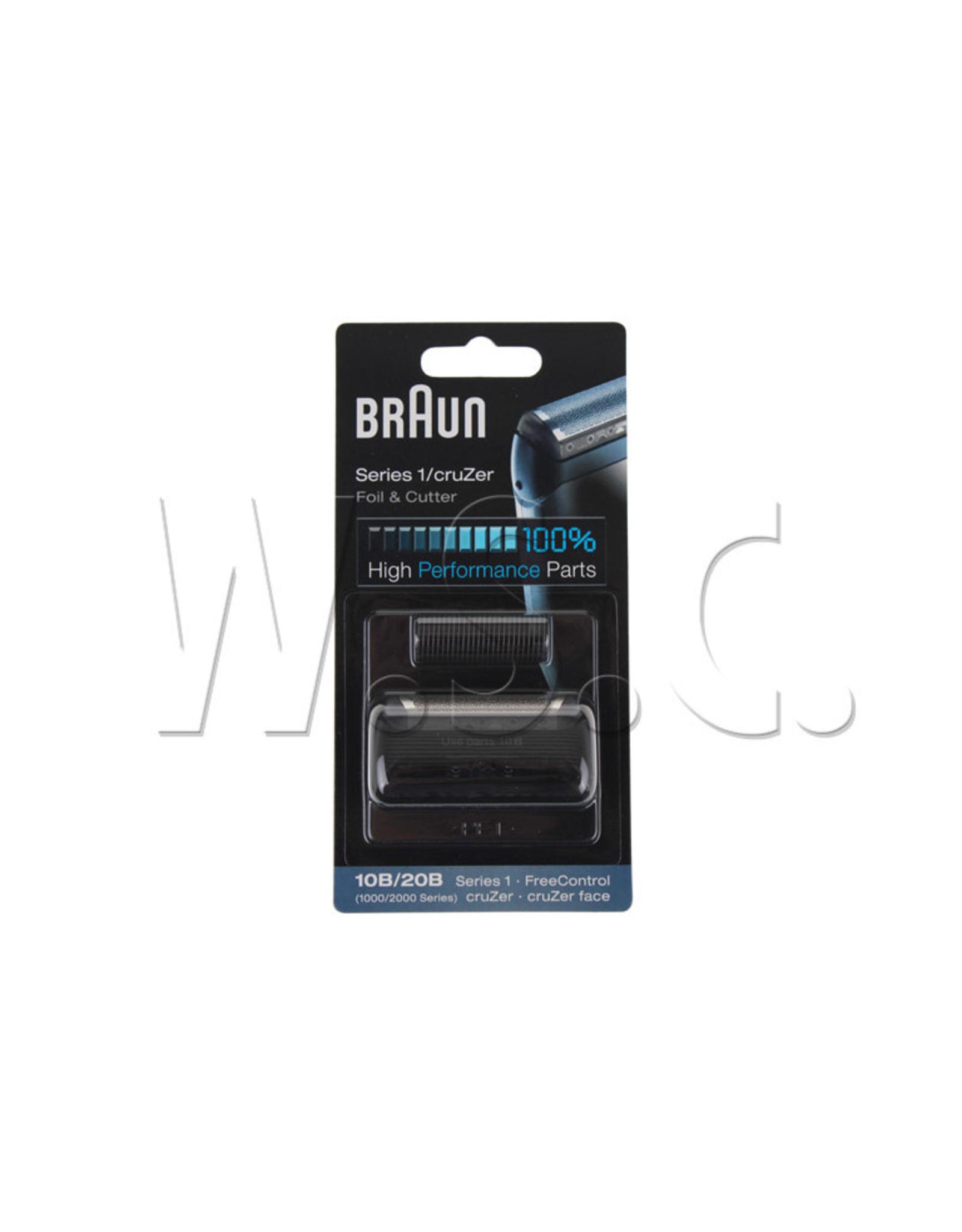 Braun COMBI-PACK FREECONTROL ZWART 10B/20B