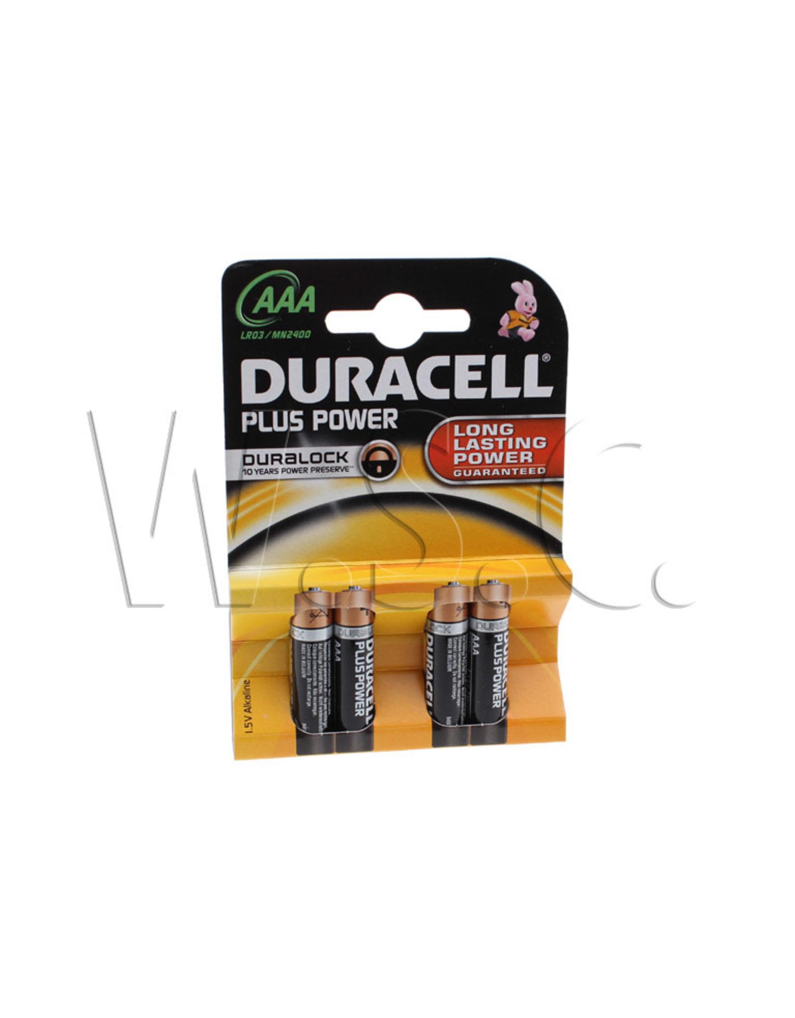 Duracell DURACELL BATT.  MN 2400-LR03 AAA