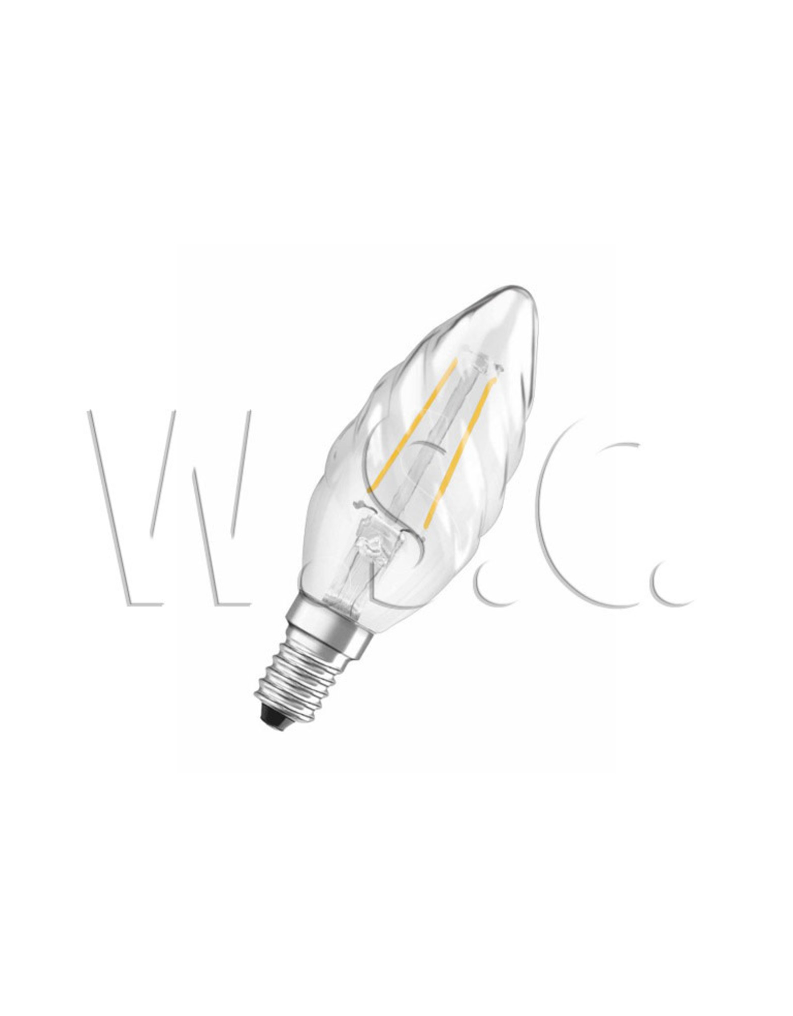 Osram LED RETROFIT CLASSIC BW25 2W/827  E14