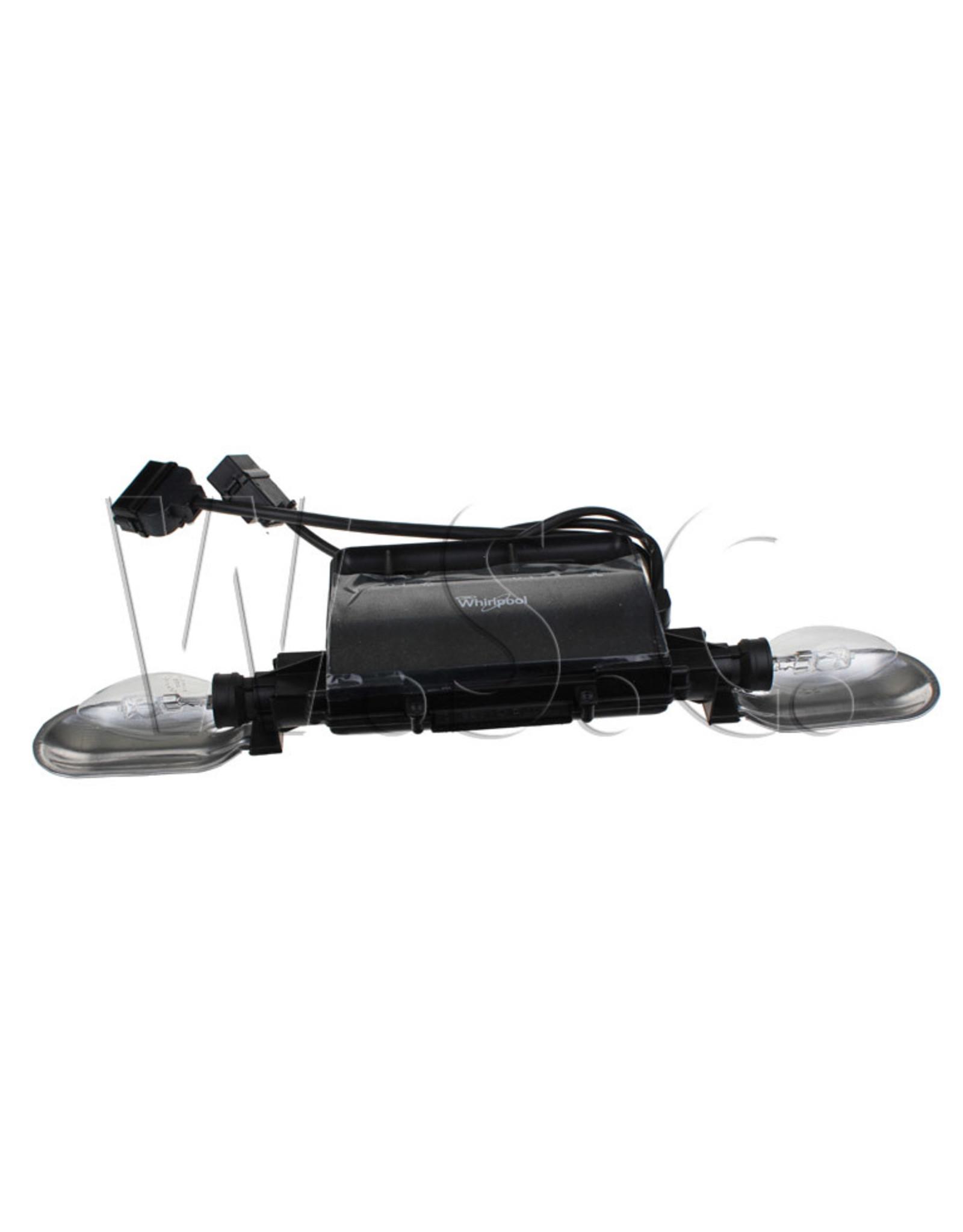 Whirlpool Module - bediening met lamphouder
