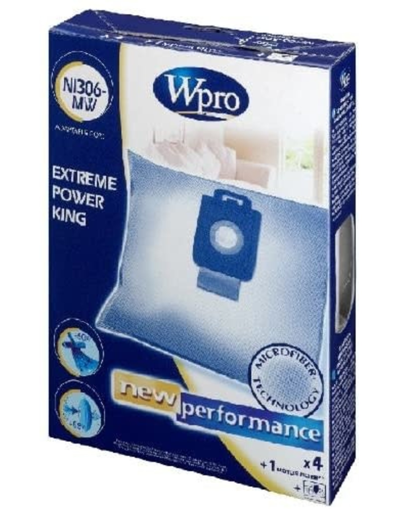 WPRO NI306MW NILFISK EXTREME/POWER/KING