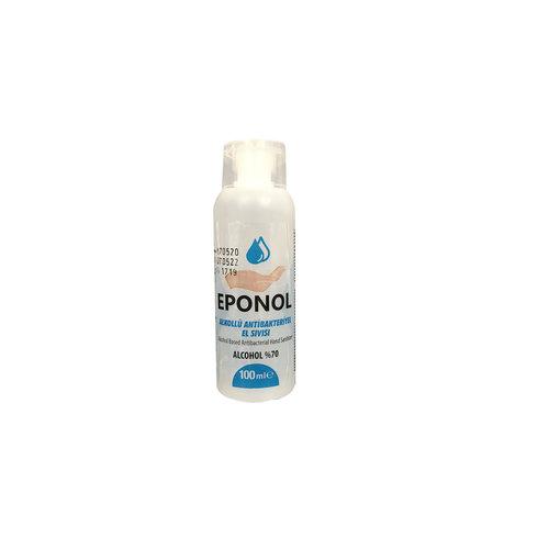 EPONOL Handgel 70% alcohol; 100ml flesjes. verpakt in handige display