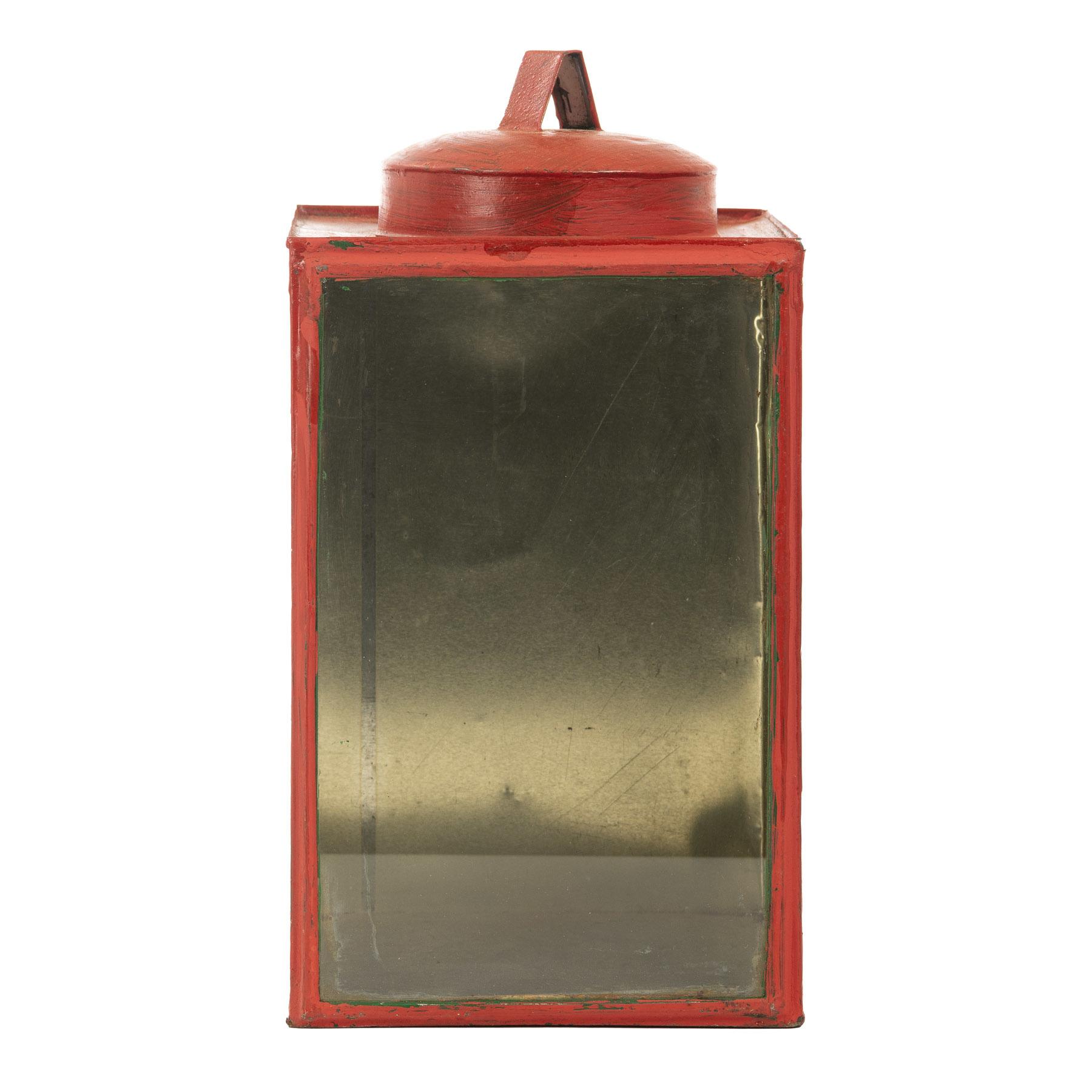 Vintage lampion | Rood
