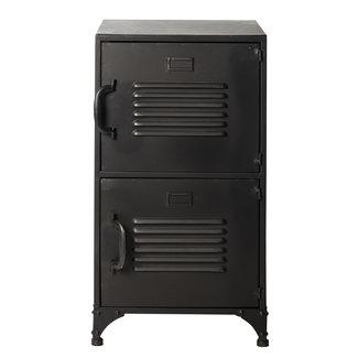 Rootsmann Locker 2 deuren | Zwart
