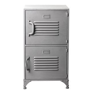 Rootsmann Locker 2 deuren | Grijs