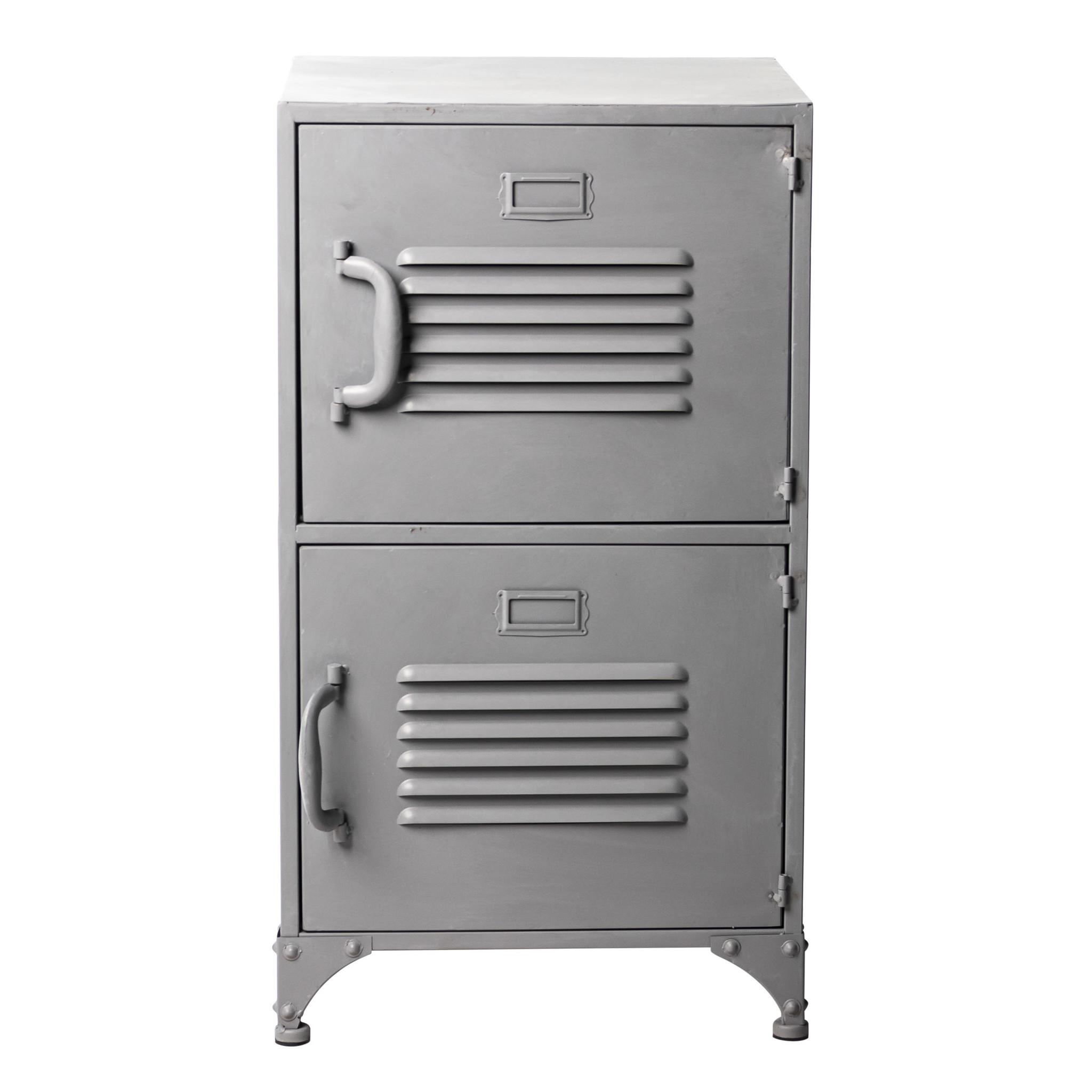 Locker 2 deuren | Grijs