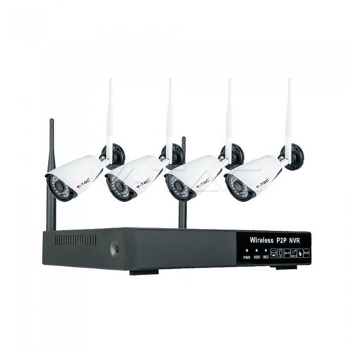 V-TAC 1080P Wireless NVR Camera Set IP65