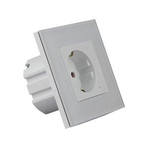 V-TAC Smart Wifi Wall Socket White