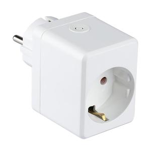 V-TAC Slimme stekker met USB poort Wit