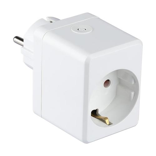 V-TAC Smart plug with USB port White