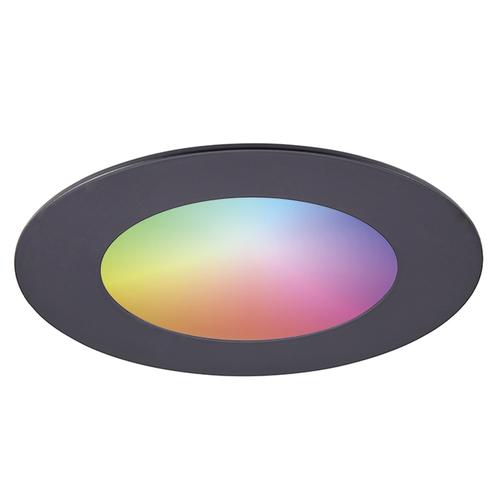 Homeylux Smart WiFi LED inbouwspot Aura RGBWW Zwart IP44 1050lm