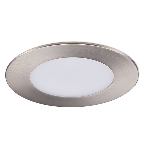Homeylux Set of 6 smart WiFi LED recessed spotlights Aura RGBWW stainless steel IP44 1050lm