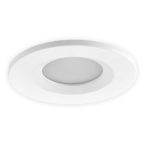 Homeylux Set of 6 smart WiFi dimmable RGBWW LED recessed spotlights white Venezia 6 Watt IP65