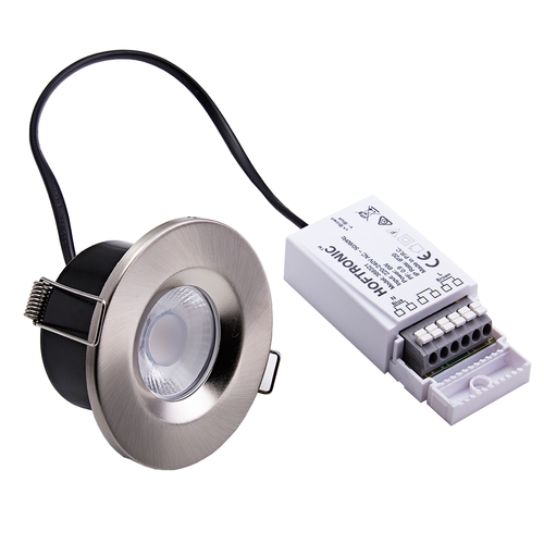 Homeylux Smart WiFi dimbare RGBWW LED inbouwspot RVS Venezia 6 Watt IP65