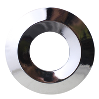 Polished chrome cover ring - Dimmable LED downlight Venezia 6 Watt IP65