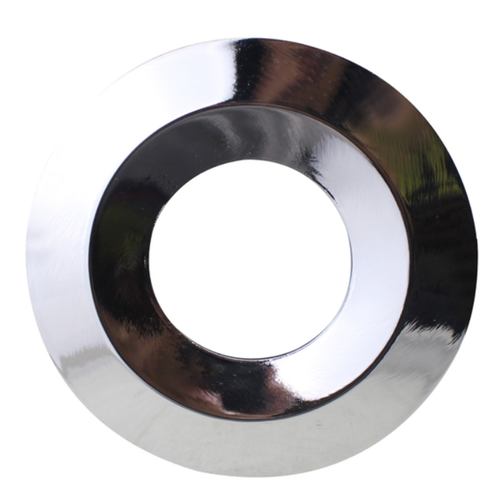 Homeylux Polished chrome cover ring - Dimmable LED downlight Venezia 6 Watt IP65