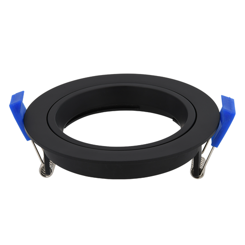Homeylux Cover ring black tiltable 12W LED Recessed spot