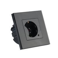 Smart Wifi Wall Socket Black