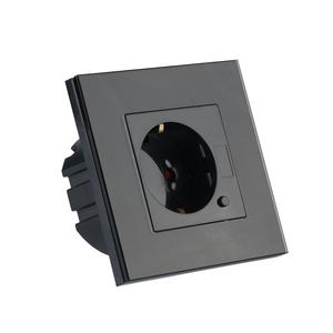V-TAC Smart WiFi Wandcontactdoos Zwart