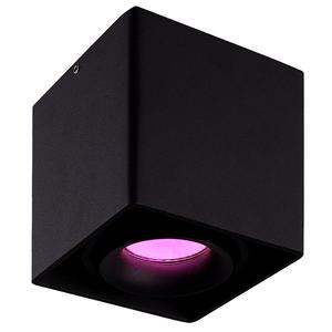 Homeylux Smart WiFi LED surface mounted ceiling spotlight Esto black RGBWW GU10 IP20 tiltable