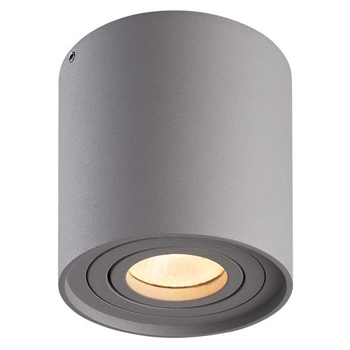 Homeylux Smart WiFi LED surface mounted ceiling spotlight Ray grey RGBWW GU10 IP20 tiltable