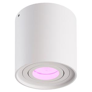 Homeylux Intelligenter WiFi LED Deckenanbaustrahler Ray Weiß RGBWW GU10 IP20 Kippbar