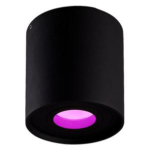 Homeylux Smart WiFi LED surface mounted ceiling spotlight Ray black RGBWW GU10 IP20 tiltable