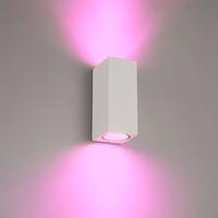 Intelligenter WiFi LED Wandleuchte Selma Weiß RGBWW GU10 IP44 doppelseitig leuchtend