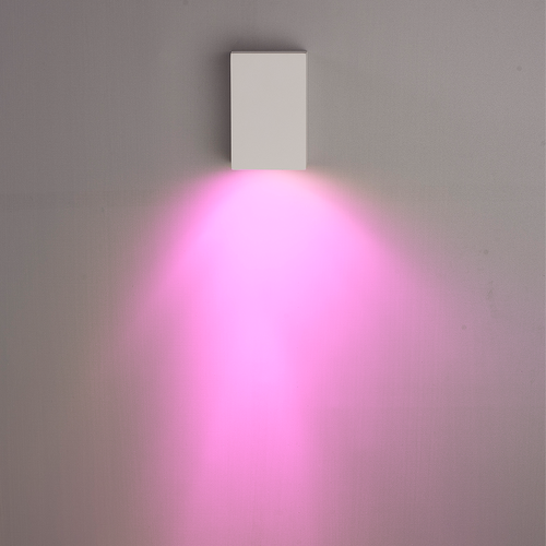 Homeylux Intelligenter WiFi LED Wandleuchte Marion Weiß RGBWW GU10 IP44