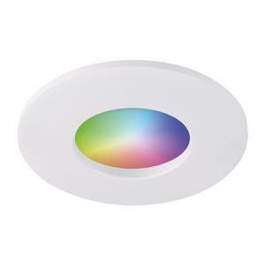 Homeylux Smart WiFi RGBWW LED inbouwspot Barcelona wit GU10 IP44